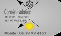Caroën Isolation Vatilieu