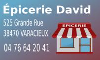 Épicerie David Varacieux